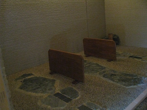 五香湯の岩盤浴